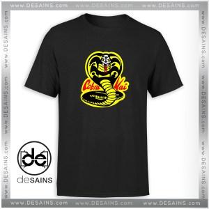Cheap Tee Shirt Karate Kid Cobra Kai Dojo Tshirt Size S-3XL