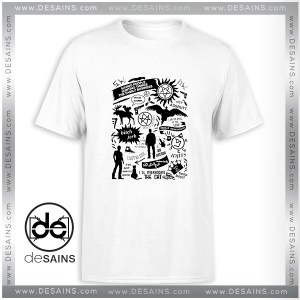 Cheap Tee Shirt Supernatural Items Supernatural Stuff Tshirt Size S-3XL