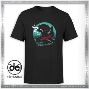 Tee Shirt Space Cowboy Negative Space Silhouette Tshirt Size S-3XL