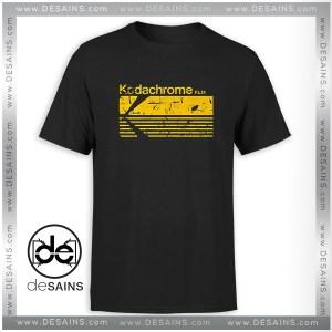Tee Shirt Vintage Photography Kodak Kodachrome Tshirt Size S-3XL