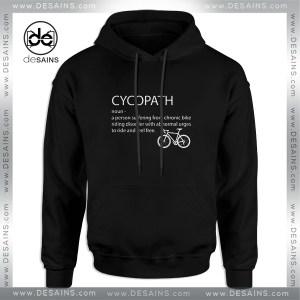 Cheap Graphic Hoodie Cycopath Noun Cycling Funny Design