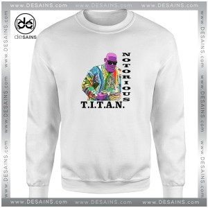 Cheap Graphic Sweatshirt Titan Notorious Thanos Avengers Size S-3XL