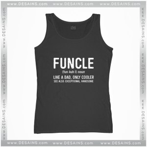 Cheap Graphic Tank Top Funcle Definition Funny Uncle Gift