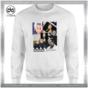 Cheap Sweatshirt RIP Xxxtentacion Tribute Poster Crewneck Size S-3XL