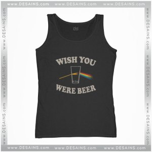 Cheap Tank Top Pink Freud Wish You Were Beer Size S-3XL