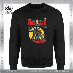 Cheap Sweatshirt Supernatural Tale Comic Hunter Crewneck Size S-3XL