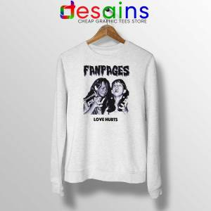 Cheap Sweatshirt Chloe Sevigny Fanpages Crewneck Size S-3XL