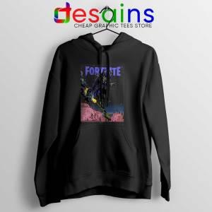 Buy Hoodie Fortnite Ravage Poster Outfit Black