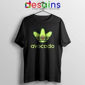 Avocado Originals Three Stripes Tee Shirt Cheap Adidas Size S-3XL
