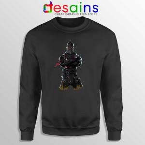 Buy Sweatshirt Black Knight Fortnite Crewneck Fortnite Battle Royale