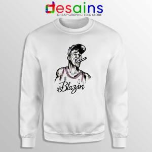 Buy Sweatshirt Michael Air Jordan Blazin Crewneck Size S-3XL