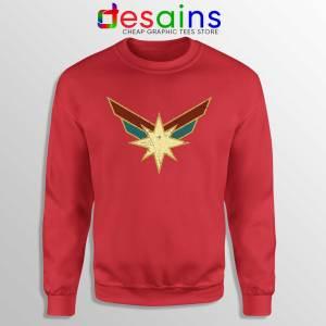 Cheap Sweatshirt Captain Marvel Seal Costume Logo Size S-3XL