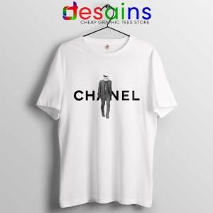 Cheap Tee Shirt Karl Lagerfeld Designer Tshirt White Chanel