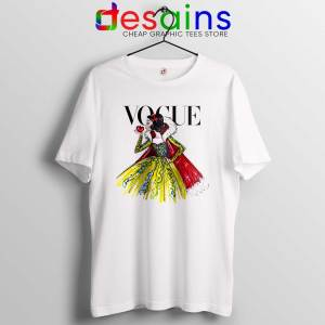 Buy Tee Shirt Disney Vogue Princess Tshirt Vogue Magazine