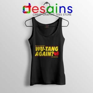 Cheap Tank Top Wu Tang Again and Again Tank Top Wu-Tang Clan