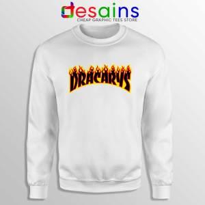 Sweatshirt Dracarys Thrasher Fire Sweater Game of Thrones Size S-3XL
