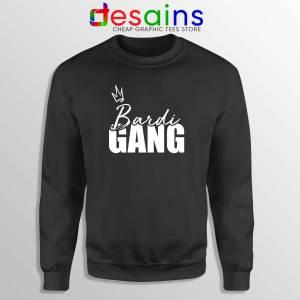 Bardi Gang Merch Sweatshirt Cardi B Unofficial Crewneck Sweater