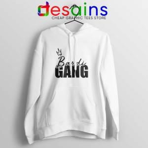 Buy Bardi Gang Merch Hoodie White Cardi B Unofficial Hoodies Adult Unisex