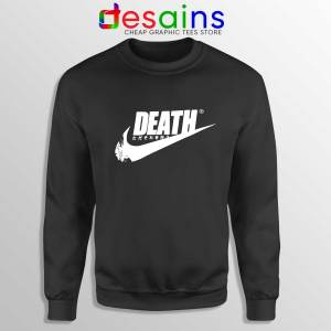 Death Just Do It Sweatshirt Japanese Just Do It Cheap Sweater Funny