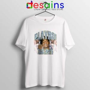 Playboi Carti Vintage Hip Hop White Tee Shirt Playboi Carti Merch Tshirt On Sale