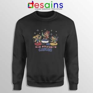 Sweatshirt Black Bad Girls Go to Cancun The Powerpuff Girls