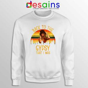 Sweatshirt White Fleetwood Mac Gypsy Lyrics Back To The Gypsy