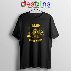 Camp Know Where Tee Shirt Stranger Things Tshirts Size S-3XL