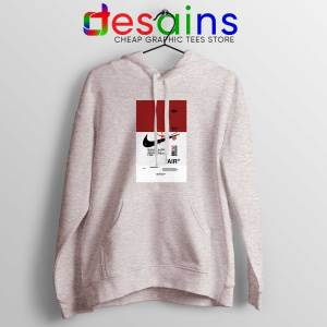 Hoodie Sport Grey Off White Shoes Air 85 Cheap Graphic Hoodies OffWhite