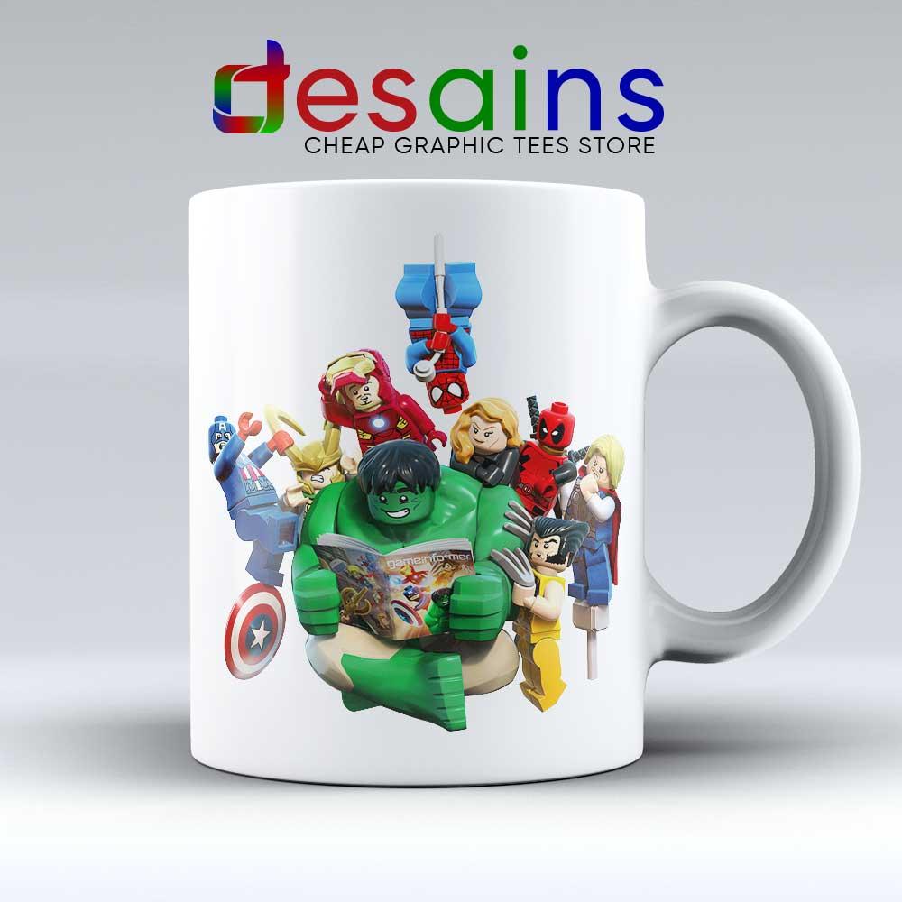 lego avengers endgame mug