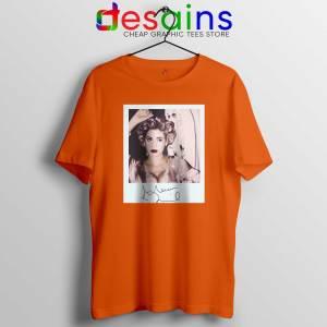 Marina and the Diamonds Orange Tshirt - Tee Shirts Marina Diamandis