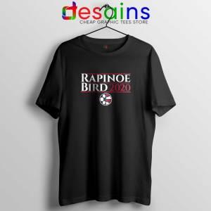 Rapinoe Bird 2020 Black Tee Shirt Megan Rapinoe Sue Bird Tshirt