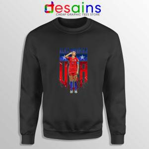 Sweatshirt Black Alex Morgan Sipping Tea Sweater Alex Morgan Shirt
