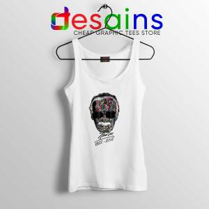 Tank Top White Stan Lee Thanks for the Memories Cheap Tops Stan Lee Marvel