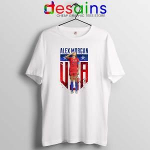 Tee Shirt Alex Morgan Sipping Tea Tshirt Alex Morgan USWNT Size S-3XL