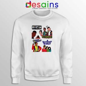 90s Martin Sitcom Mashup Sweatshirt Crewneck Sweater Martin Merch