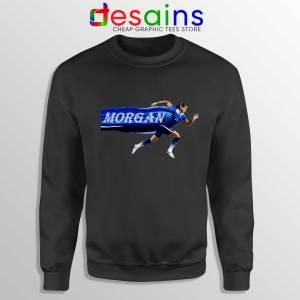 Alex Morgan Run Black Sweatshirt Crewneck Alex Morgan USWNT