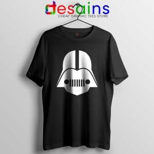 DarthJeep Star Wars Black Tshirt Cheap Graphic Tee Shirts Darth Vader Jeep