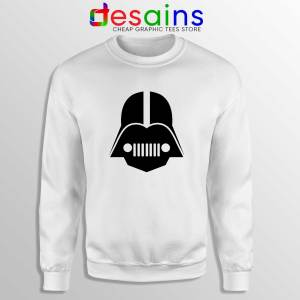 DarthJeep Star Wars Sweatshirt Crewneck Sweater Darth Vader Jeep