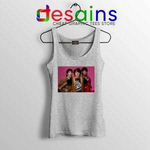 Jonas Brothers Vintage Sport Grey Tank Top Custom Poster Jonas Brothers Shirt