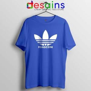 Magcon Merch Blue Tshirt Cheap Graphic Tees Shirts Magcon Adidas