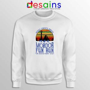Mordor Fun Run Sweatshirt The Hobbit Middle Earth Sweater