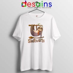 Slothwarts Sloth Hogwarts Tshirt Cheap Tee Shirts Harry Potter Sloth