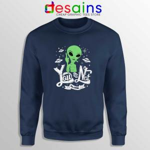 Storm Area 51 Navy Sweatshirt They Can't Stop All of Us Crewneck Sweater