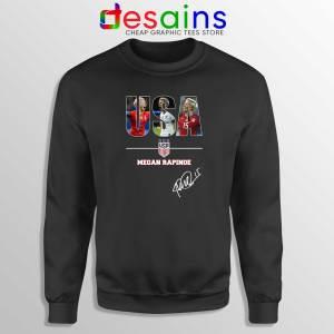 Sweatshirt Megan Rapinoe Signature USA Womens Soccer Team Sweater