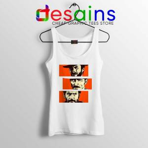 Tank Top White For a Few Dollars More Cheap Tank Tops Clint Eastwood