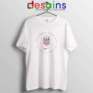 USWNT Champions 2019 Tshirt FIFA Womens World Cup Tee Shirts