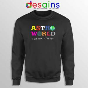 Astroworld Look Mum I Can Fly Sweatshirt Travis Scott Sweater S-2XL