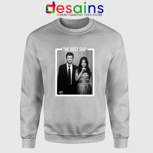 Ezria The Best Ship Sweatshirt Ian Harding and Lucy Hale Sweater