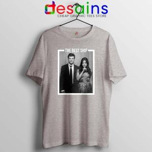 Ezria The Best Ship Tshirt Ian Harding and Lucy Hale Cheap Tees Shirts