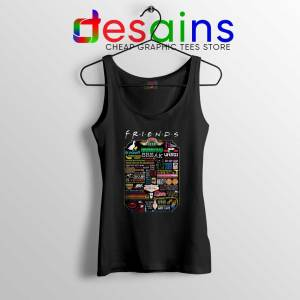 Friends TV Show Quotes Tank Top The Best Friends Quotes Tank Tops